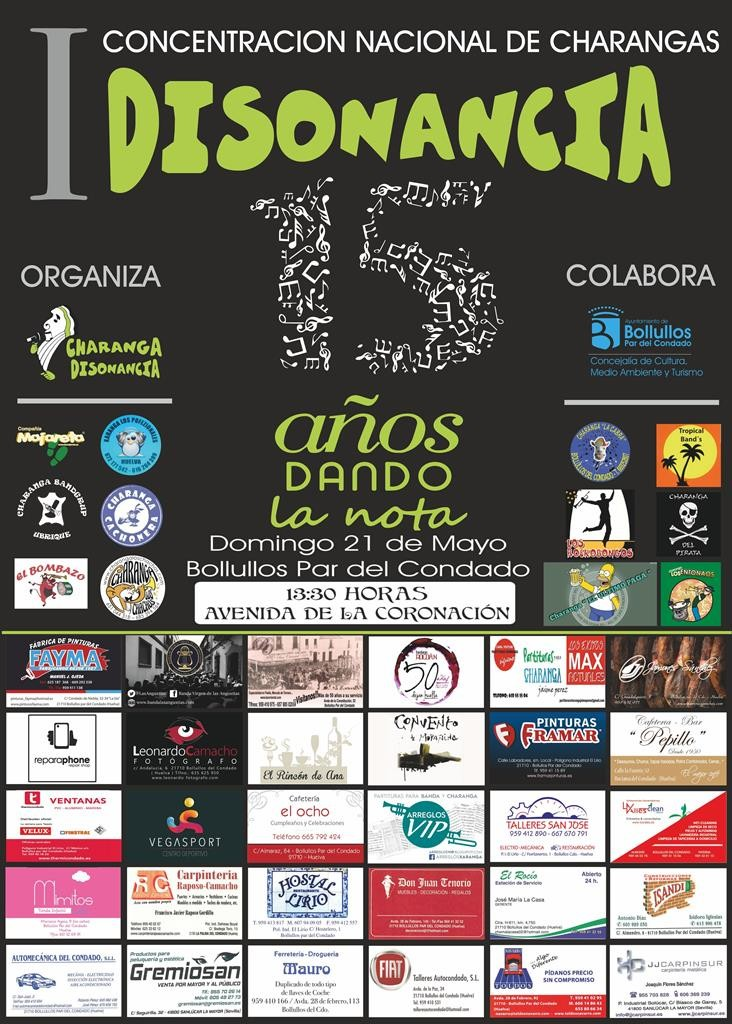I Concentraci+¦n Charangas Disonancia 2017 (1) cartel